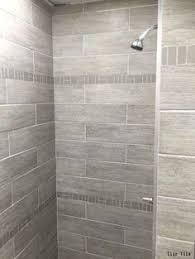Shower Tile Installation Gray Shower Tile With Moen Shower Faucet Http