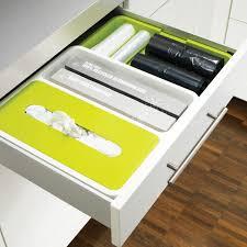organisateur de tiroir cuisine organisateur de tiroir extensible drawerstore deco tendency