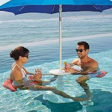 Poolside Table And Chairs Awesome Underwater Chair That Converts To Pool Table Only 100