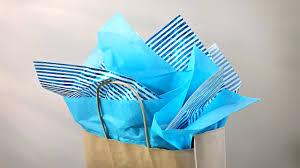gift wrap tissue paper how to put tissue in a gift bag gift wrapping tutorial easy