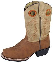 light colored cowgirl boots amazon com smoky mountain childs memphis sq toe boot tan light tan