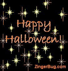 Happy Halloween Meme - happy halloween glitter stars glitter graphic greeting comment