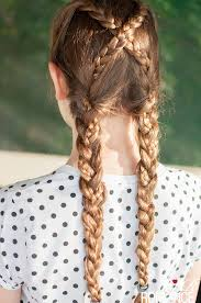 hair braiding styles long hair hang back 25 pigtail braids you can try