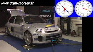 renault clio v6 modified mise au point dgm renault clio v6 3 0l compresseur rotrex youtube