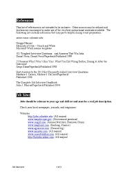 cover letter for a job interview cover letter examples template