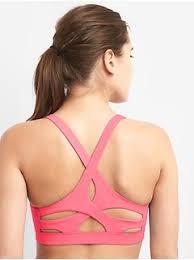 light pink sports bra sports bras for yoga running more at gapfit gap