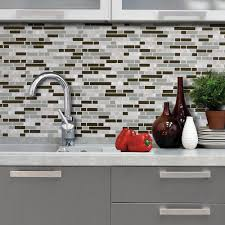 smart tiles bellagio grigio 10 06 in w x 10 00 in h peel and