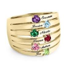 grandmother rings s ring birthstone all kids 4 kids or family ring