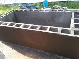 cinder block pond build done jpg jaspie pinterest fish ponds