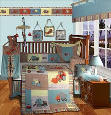Construction Crib Bedding Set Nursery Bedding Set Tokida For
