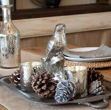 ideas gorgeous thanksgiving centerpiece with mercury glass with