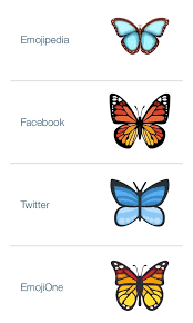what does the butterfly emoji quora
