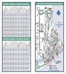 Seatac Map Jefferson Transit 2 Fort Worden Route Schedule