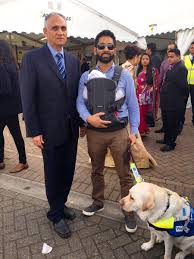 Blind Dog And His Guide Dog Blind Man Puts Camera On His Guide Dog To Film Abuse He Faces