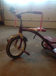 Radio Flyer Tricycle Bell Find More Retro Radio Flyer Tricycle With Streamers And Bell Fcfs