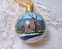 house ornaments etsy