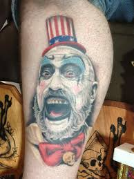 captain spaulding tattoo google search tattoo sleeve ideas