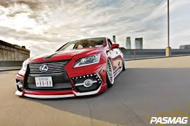 red lexus 2008 pasmag performance auto and sound the godfather of vip
