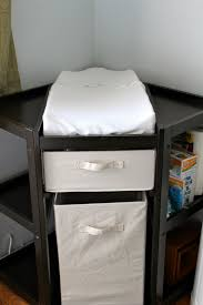 Koala Kare Changing Table by Large Corner Changing Table Using A Rack As A Baby Corner