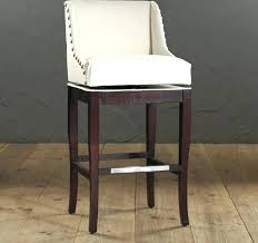 Leather Bar Stool With Back White Leather Bar Stools With Backs Wooden Bar Stools With Backs