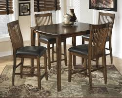 Dining Room Groups Stuman Rect Drm Counter Tbl Set Set Of 5 D293 223 Dining