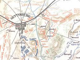 Battle Of Gettysburg Map Rewards General Staff
