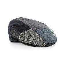 Patchwork Cap - mucros gents wool patchwork cap style c ebay