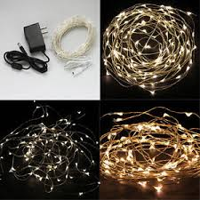 warm white 10m 100 led copper wire led string lights l