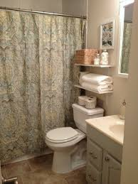 ideas for small guest bathrooms bathroom fabulous small guest bathroom with cool wallpaper also