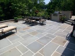 Patio Pavers Prices Blue Patio Lay With Out Mortar Joints Blue Patio