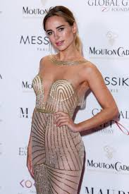 kimberley garner stuns in a see through dress at cannes party just