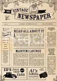 free newspaper layout template indesign resume vector illustration of a front page of an old newspaper use this