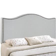 Nailhead Upholstered Headboard Modway Curl Nailhead Upholstered Headboard Multiple Sizes And