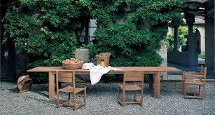 tavolo da giardino prezzi tavoli da giardino in legno di charme arredo giardino la
