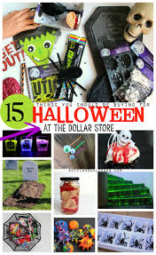15 amazing halloween things to buy at the dollar store a
