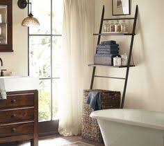 Leaning Bathroom Ladder Over Toilet by Ana White Leaning Bathroom Ladder Over Toilet Shelf Diy