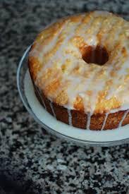 lemon pound cake with strawberries u2013 secret recipe club beantown