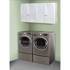 best place to buy cabinets for laundry room white shaker 60 inch x 30 inch laundry room cabinet set