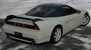 jdm acura nsx 2002 standing honda nsx type r rear view picture for iphone