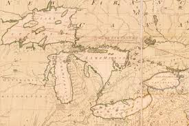Map Of Michigan Lakes The Unlikely Story Of The Map That Helped Create Our Nation