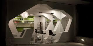 Most Beautiful Interior Design by Beautiful Houses Futuristic Barbershop Interior Design Israel