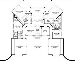 2 Car Garage Floor Plans Luxury Home Designs Plans Floor Plan With 2 Car Garages Home