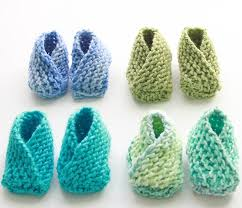 easiest baby booties knitting pattern michele