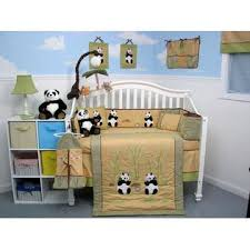 soho designs giant panda bear baby crib nursery bedding set 14 pcs