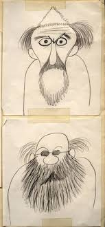 a s day card that ward kimball drew for his betty