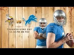lions vs vikings thanksgiving day hype