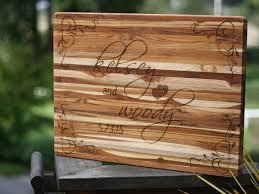 cutting board personalized custom wedding cutting board with personalized engraving
