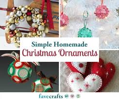 christmas ornaments with initials 70 simple christmas ornaments favecrafts