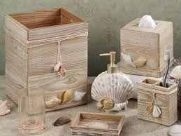 Bathroom Accessory Sets With Shower Curtain by Bathroom Best Decoration Of Seashell Bathroom Accessories