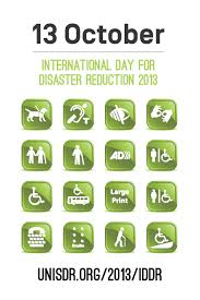 13 october 2013 international day for disaster reduction